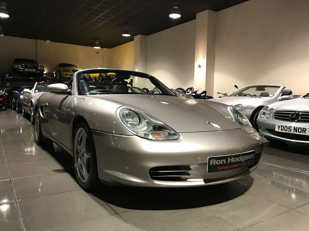 2003 03 PORSCHE BOXSTER MERIDIAN SILVER SAT NAV XENONS SOLD (picture 6 of 6)