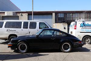 PORSCHE 911SC COUPE 1983 BLACK
