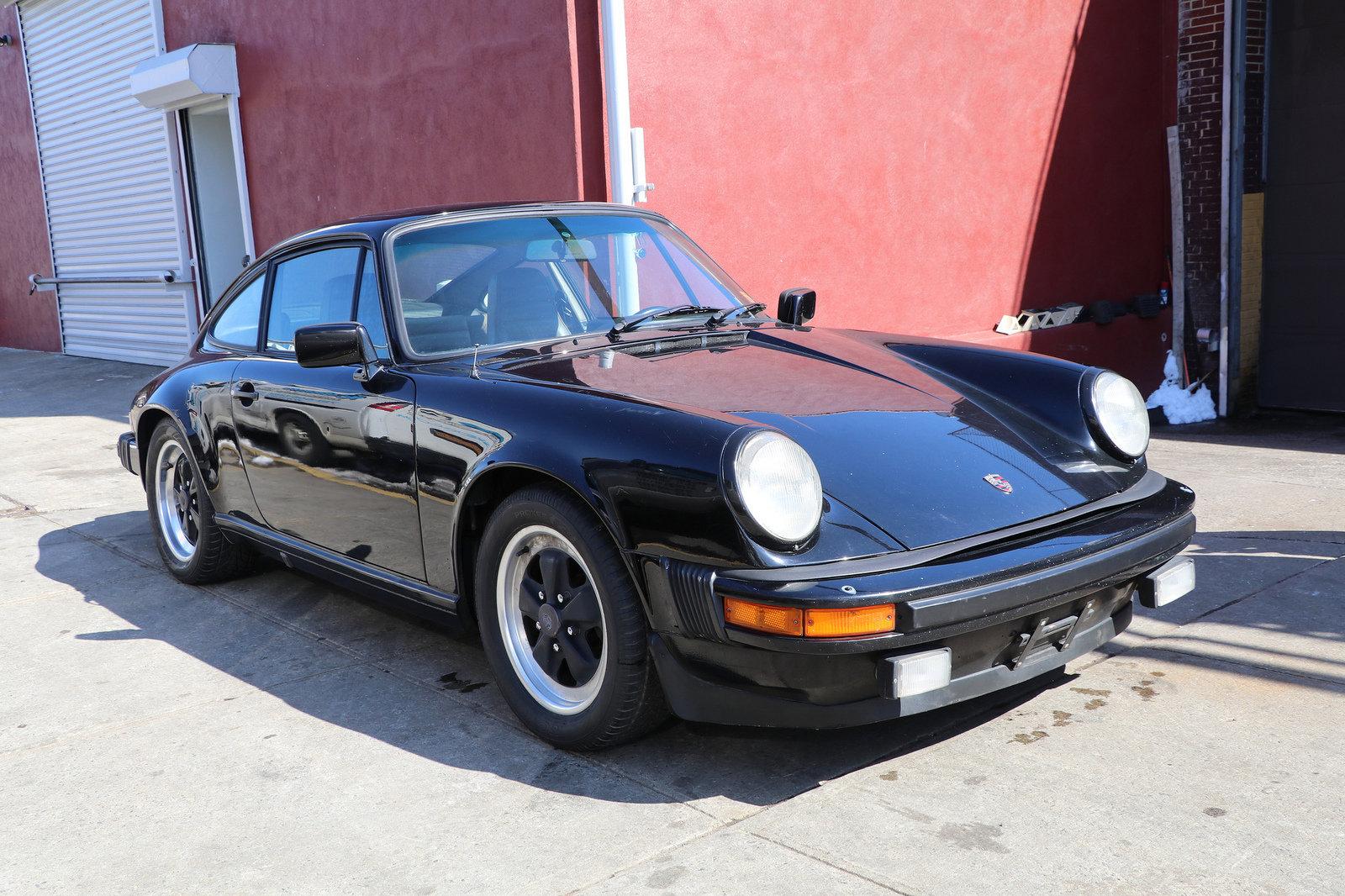PORSCHE 911SC COUPE 1983 BLACK For Sale (picture 2 of 4)