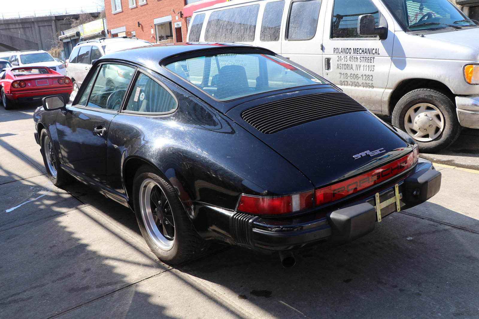 PORSCHE 911SC COUPE 1983 BLACK For Sale (picture 4 of 4)