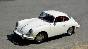 1964 Porsche 356 SC Coupe = Correct Ivory(~)Red $135k For Sale