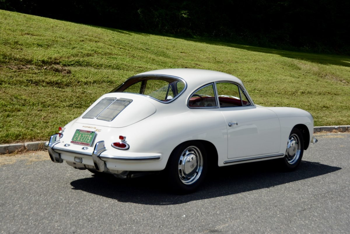 1964 Porsche 356 SC Coupe = Correct Ivory(~)Red $135k For Sale (picture 2 of 6)