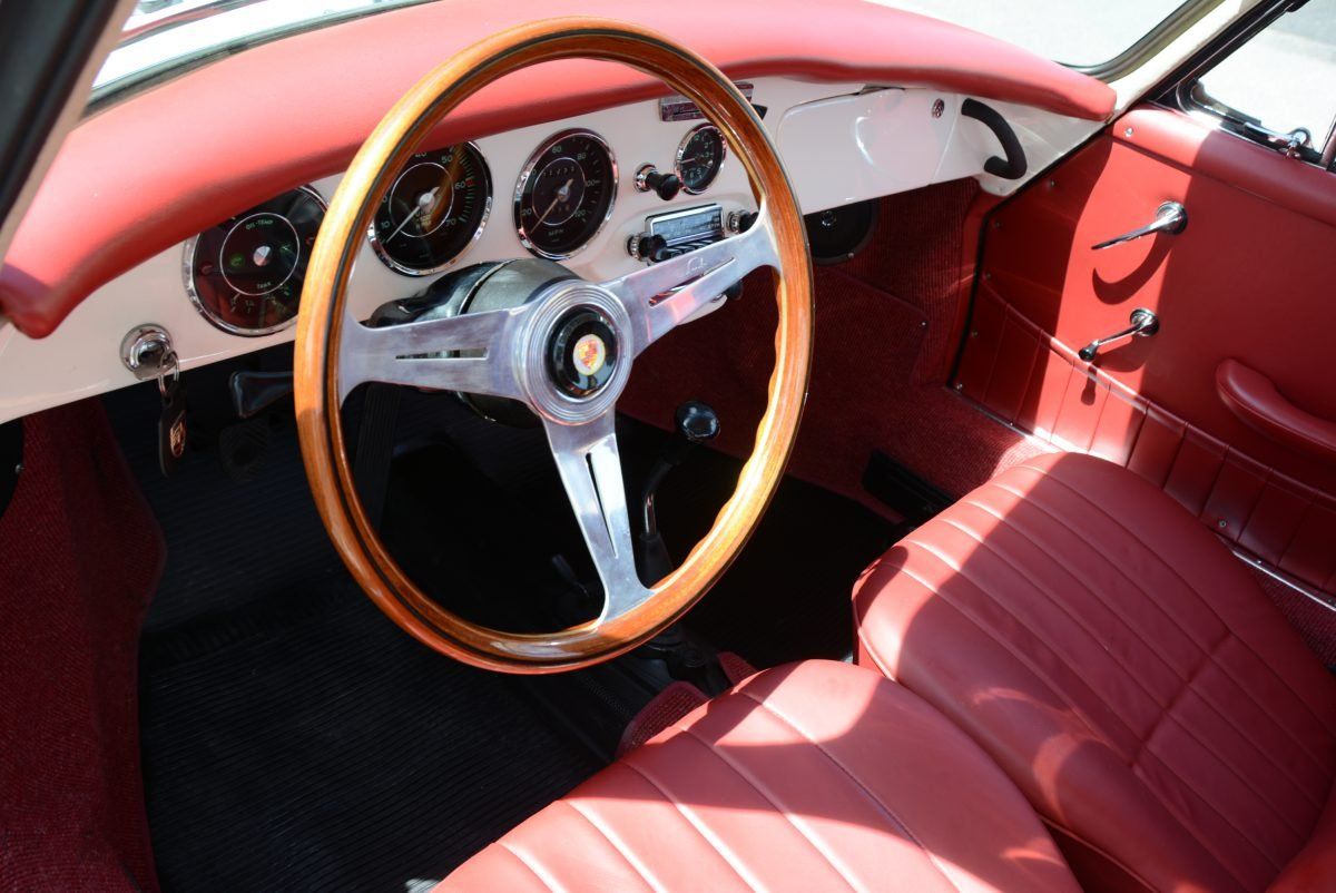 1964 Porsche 356 SC Coupe = Correct Ivory(~)Red $135k For Sale (picture 5 of 6)