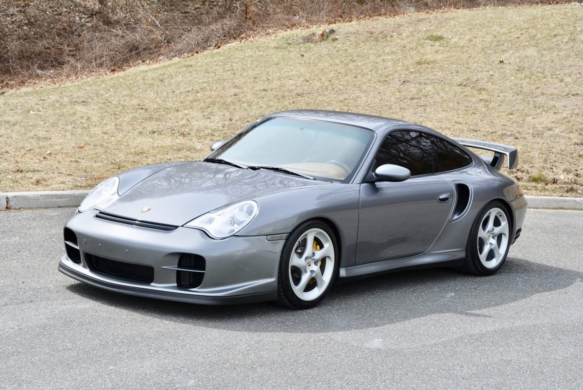 2002 Porsche 911 GT2 = Manual Silver(~)Ginger  $149.9k  For Sale (picture 1 of 6)