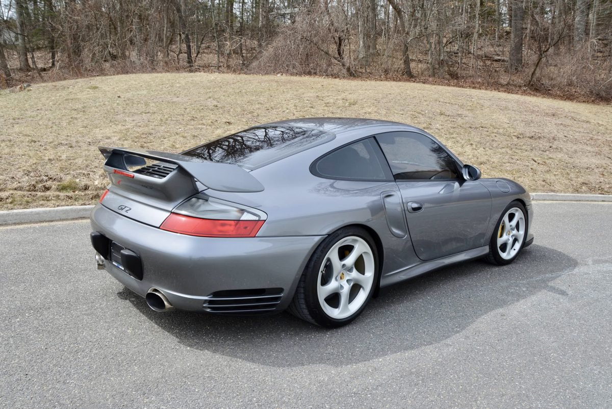 2002 Porsche 911 GT2 = Manual Silver(~)Ginger  $149.9k  For Sale (picture 2 of 6)