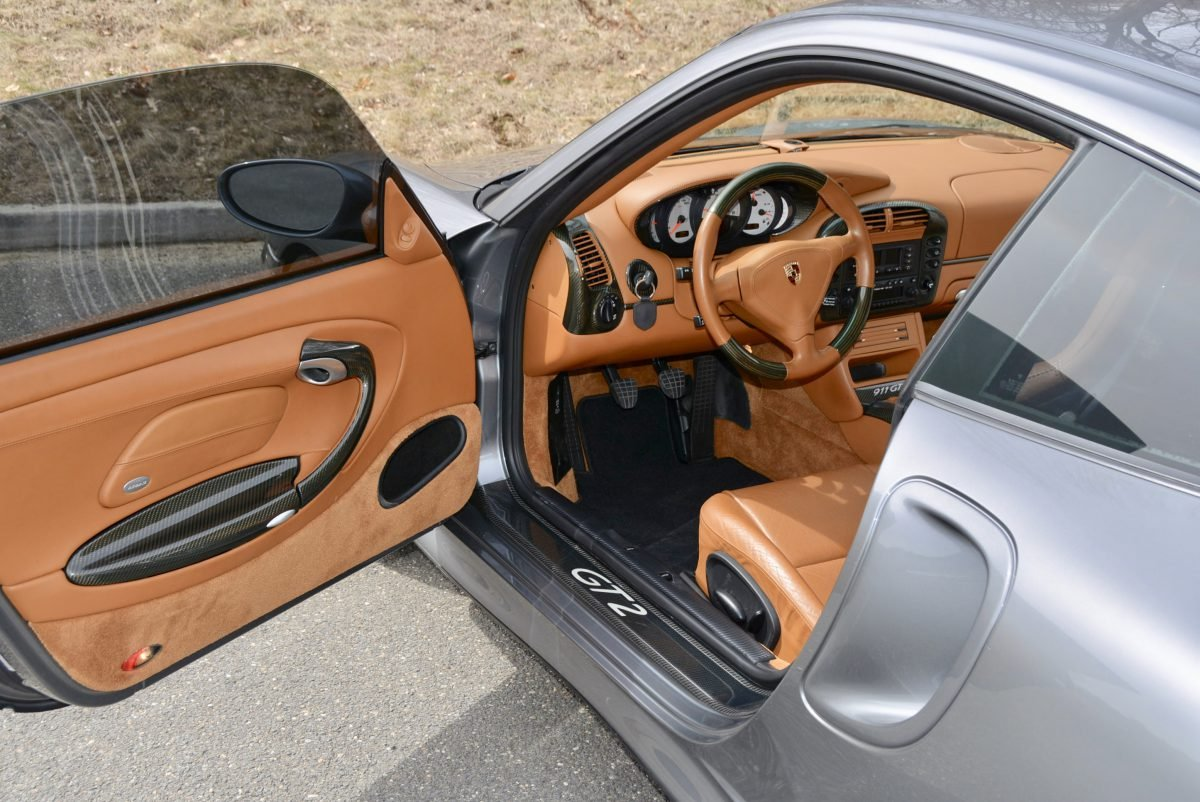 2002 Porsche 911 GT2 = Manual Silver(~)Ginger  $149.9k  For Sale (picture 3 of 6)