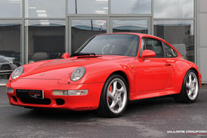 1998 Porsche 993 Carrera 4 S manual coupe For Sale