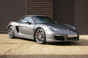 2014 Porsche 981 Boxster S 3.4 Convertible Manual (34,223 miles) SOLD