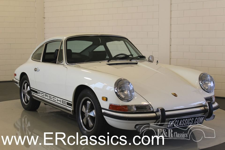 Porsche 911 L coupe White 1968 Matching Numbers For Sale (picture 1 of 6)
