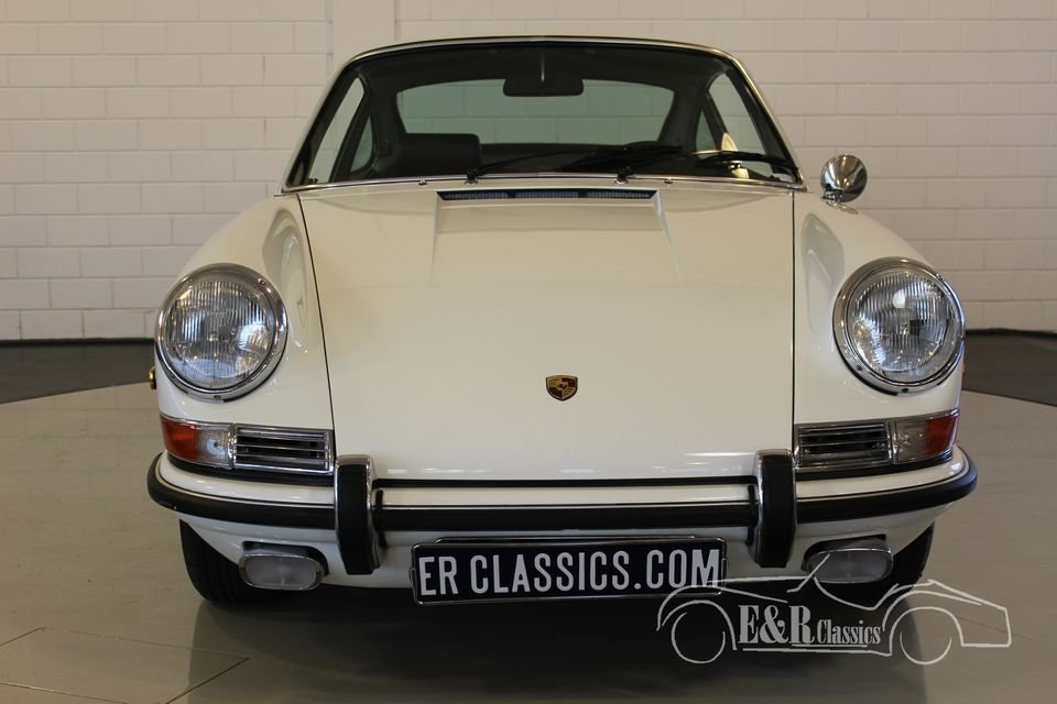 Porsche 911 L coupe White 1968 Matching Numbers For Sale (picture 3 of 6)