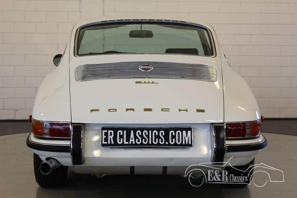 Porsche 911 L coupe White 1968 Matching Numbers For Sale (picture 5 of 6)
