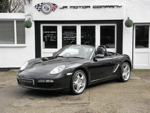 2008 Porsche Boxster 2.7 Manual Basalt Black Huge Spec!