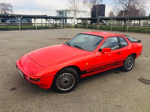 Porsche 924 1984 (A), Guards Red, Serviced Cambelt