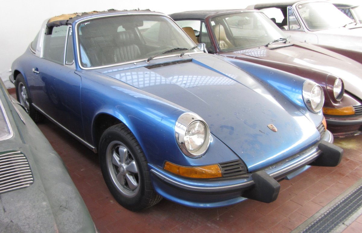 Porsche 911 E targa 1971 For Sale (picture 1 of 6)