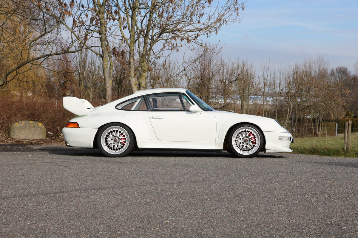 1994 Porsche 993 Cup 3.8 Race with registration For Sale (picture 1 of 6)