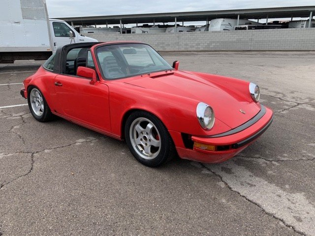 1984 LHD Porsche 911 targa Left Hand >Drive For Sale (picture 1 of 6)