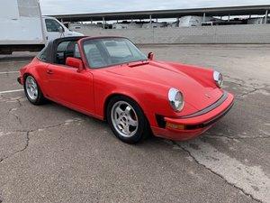 1984 LHD Porsche 911 targa Left Hand >Drive For Sale
