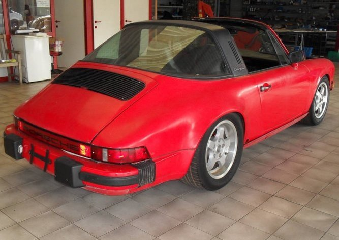 1984 LHD Porsche 911 targa Left Hand >Drive For Sale (picture 2 of 6)