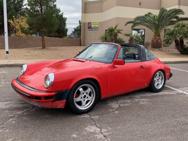 1984 LHD Porsche 911 targa Left Hand >Drive For Sale (picture 3 of 6)