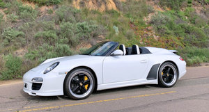 2011 Porsche 911 Speedster = Rare 1 of 356 made Ivory $329k