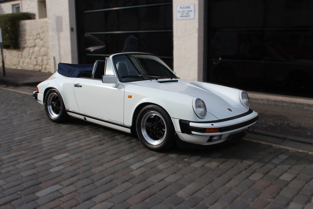 1987 Porsche 911 3.2 Classic Carrera Sport 2dr CABRIOLET G50 SOLD (picture 1 of 6)