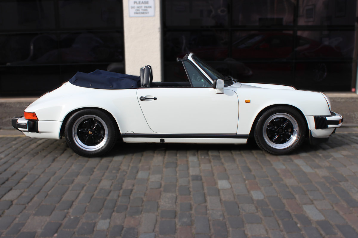 1987 Porsche 911 3.2 Classic Carrera Sport 2dr CABRIOLET G50 SOLD (picture 3 of 6)