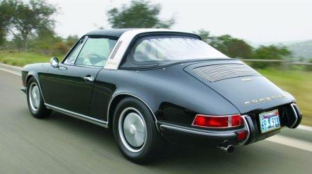 1967 Porsche 911S Soft Window Targa = Restored Red $169.9k