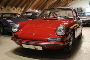 1967 Porsche 912 / nut and bolt restauration / polo red For Sale