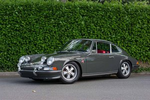 1973 Porsche 911 T Coupe = Grey(~)Red Restored $129.9k For Sale