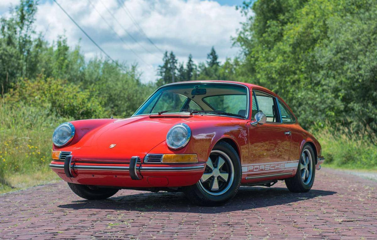 1970 Porsche 911 T = clean Red(~)Tan driver  $99.9k For Sale (picture 1 of 6)