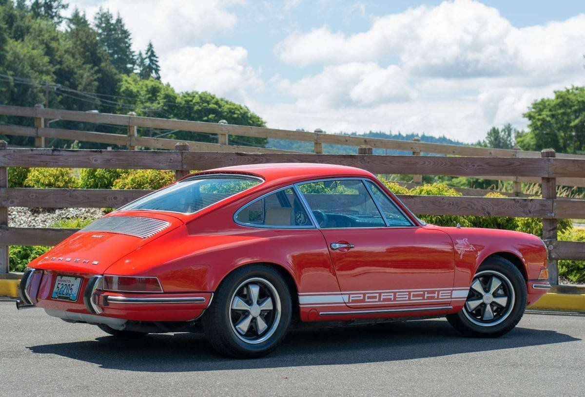 1970 Porsche 911 T = clean Red(~)Tan driver  $99.9k For Sale (picture 2 of 6)