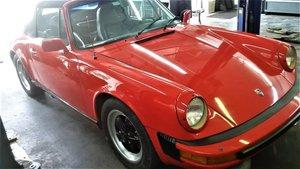 1983 Porsche 911 sc cabrio