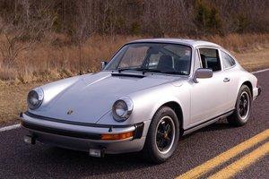 1977 Porsche 911S Sunroof Coupe = 188k miles Silver $46.9k