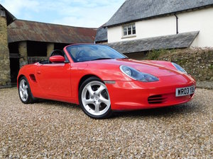 2003 Porsche 986 Boxster 2.7 - facelift, 32k, 2 owners, pristine SOLD
