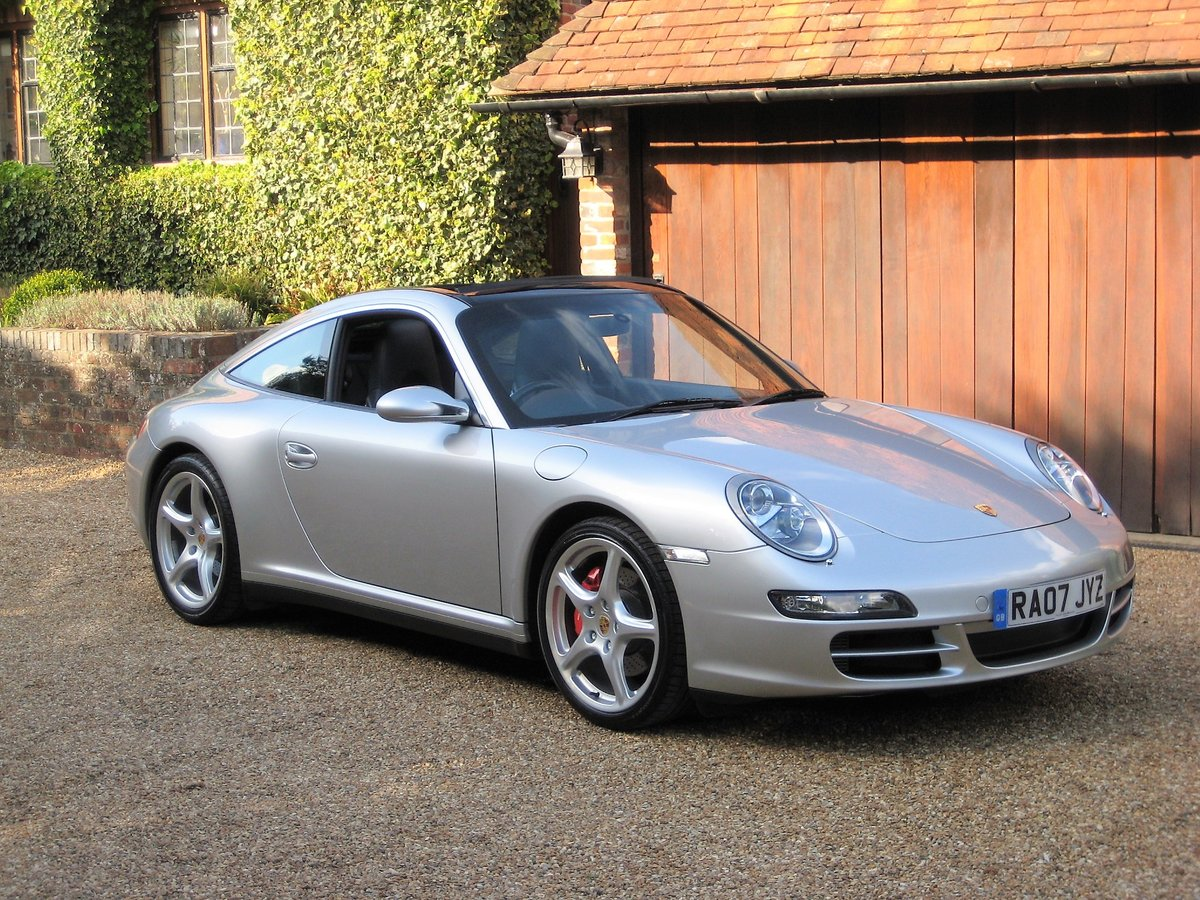 2007 Porsche 911 (997) 3.8 Targa 4S With Only 38,000 Miles For Sale (picture 1 of 6)