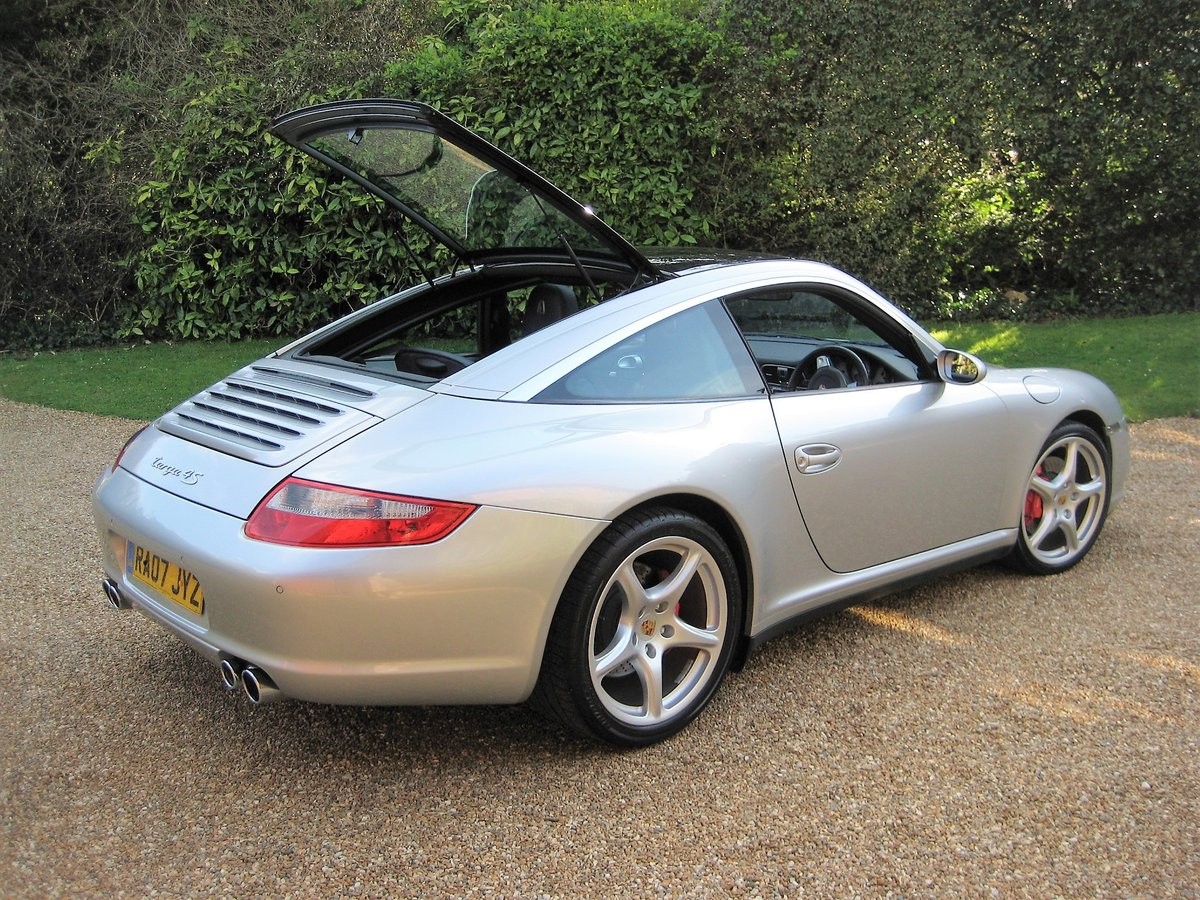 2007 Porsche 911 (997) 3.8 Targa 4S With Only 38,000 Miles For Sale (picture 2 of 6)