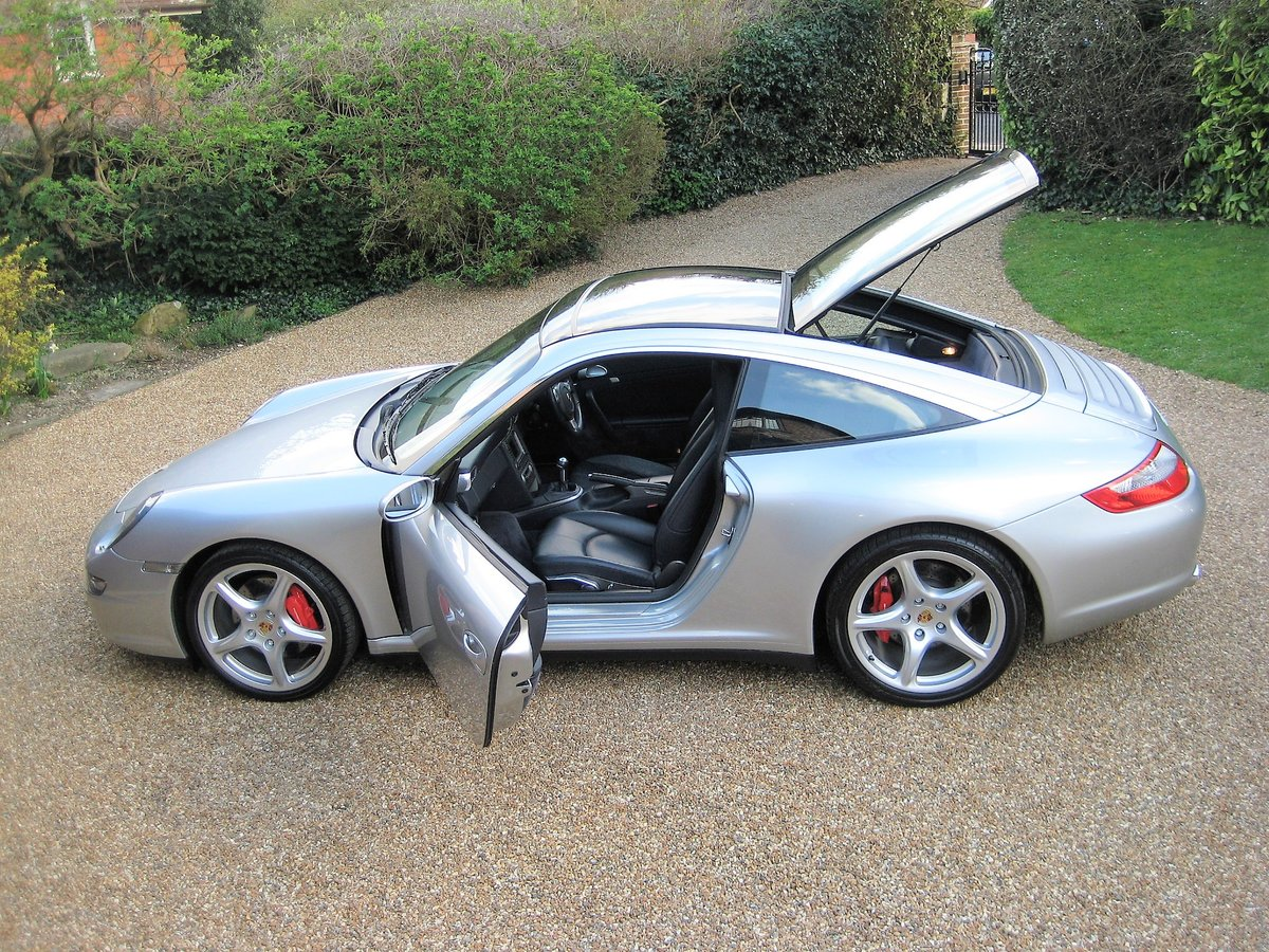 2007 Porsche 911 (997) 3.8 Targa 4S With Only 38,000 Miles For Sale (picture 5 of 6)