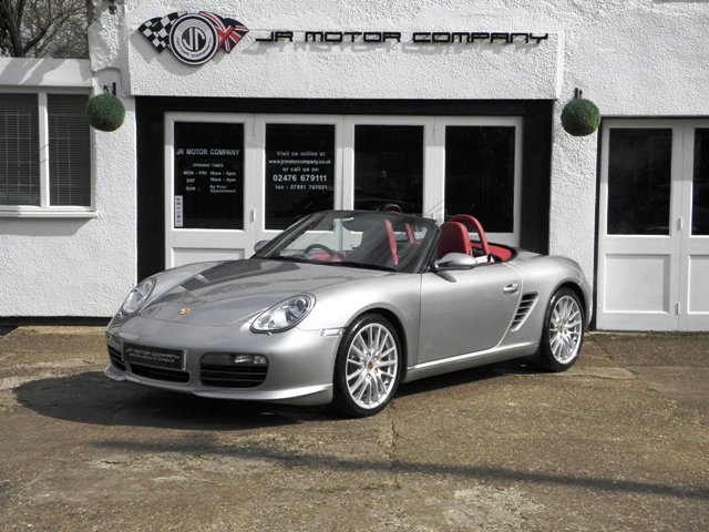 2008 Porsche Boxster RS60 Spyder ONLY 49000 Miles 2 Owners! SOLD (picture 1 of 6)