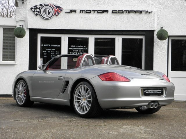 2008 Porsche Boxster RS60 Spyder ONLY 49000 Miles 2 Owners! SOLD (picture 3 of 6)