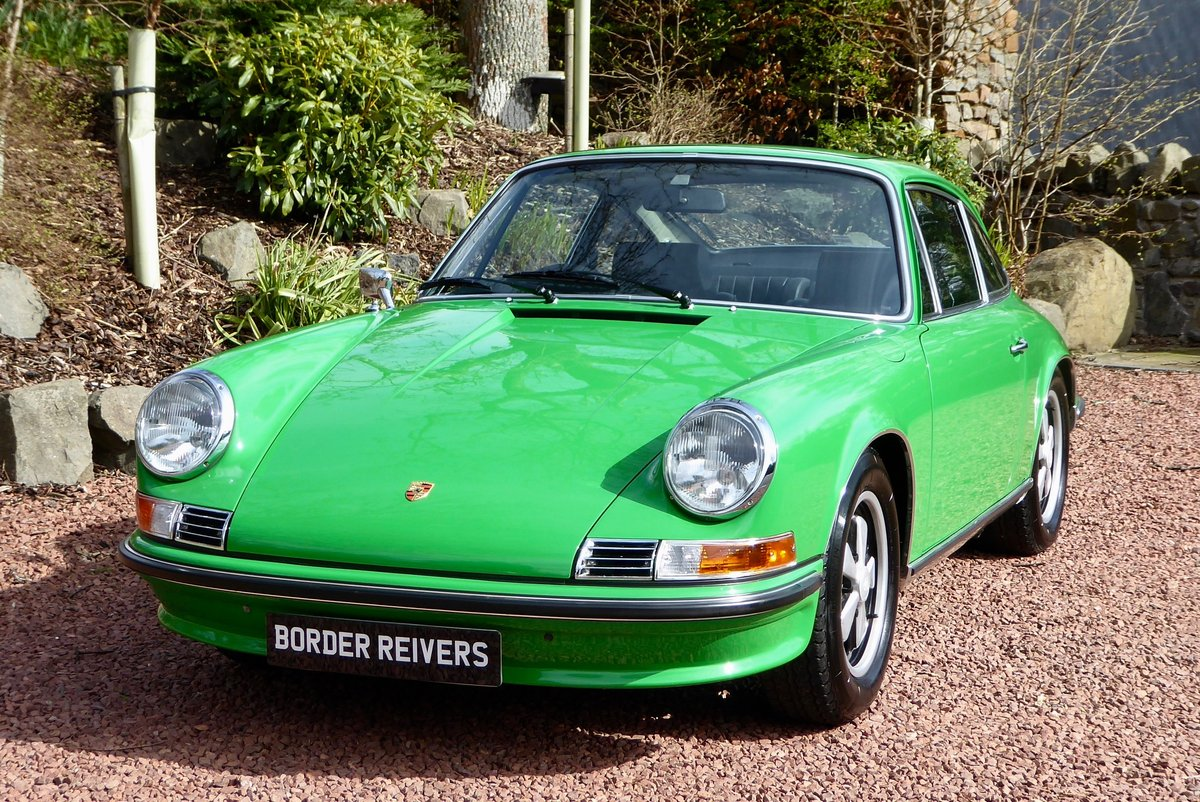 1972 Porsche 911T RHD Low miles, Low owners Superb SOLD (picture 1 of 6)