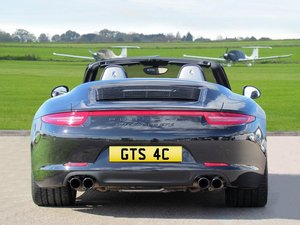 Great number plates for a GTS C4