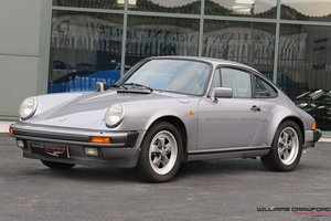 1987 Porsche 911 Carrera 3.2 Sport coupe (G50 manual) For Sale