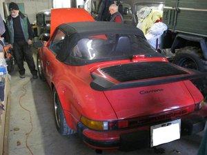 1985 Porsche 911 Carrera cabrio