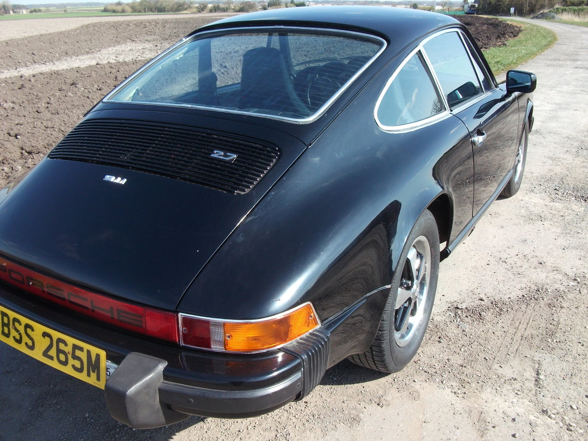 1974 Porsche 911 2.7 Coupe For Sale (picture 3 of 6)