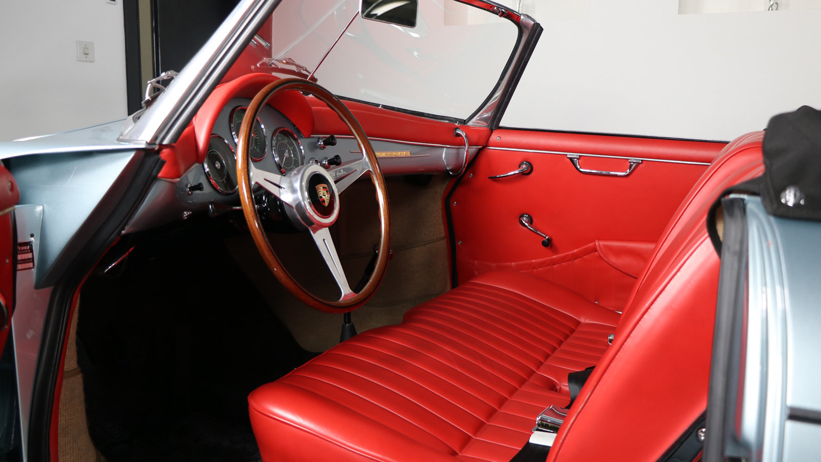 1961 Porsche 356 B Roadster Rod Emory Restoration  For Sale (picture 3 of 6)