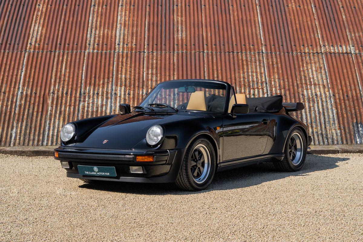 1988 Porsche 911 3.2 Carrera Supersport Cabriolet - 1 of 37 C16's For Sale (picture 1 of 6)