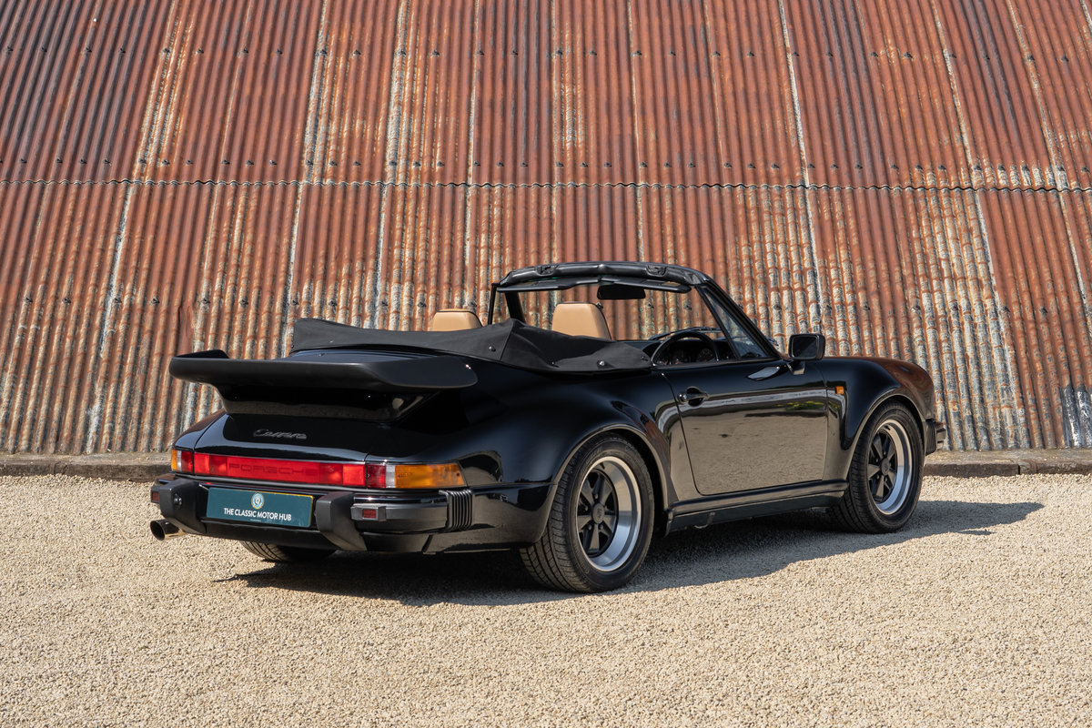 1988 Porsche 911 3.2 Carrera Supersport Cabriolet - 1 of 37 C16's For Sale (picture 2 of 6)