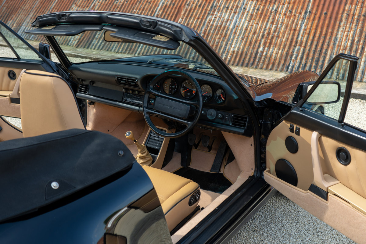 1988 Porsche 911 3.2 Carrera Supersport Cabriolet - 1 of 37 C16's For Sale (picture 4 of 6)