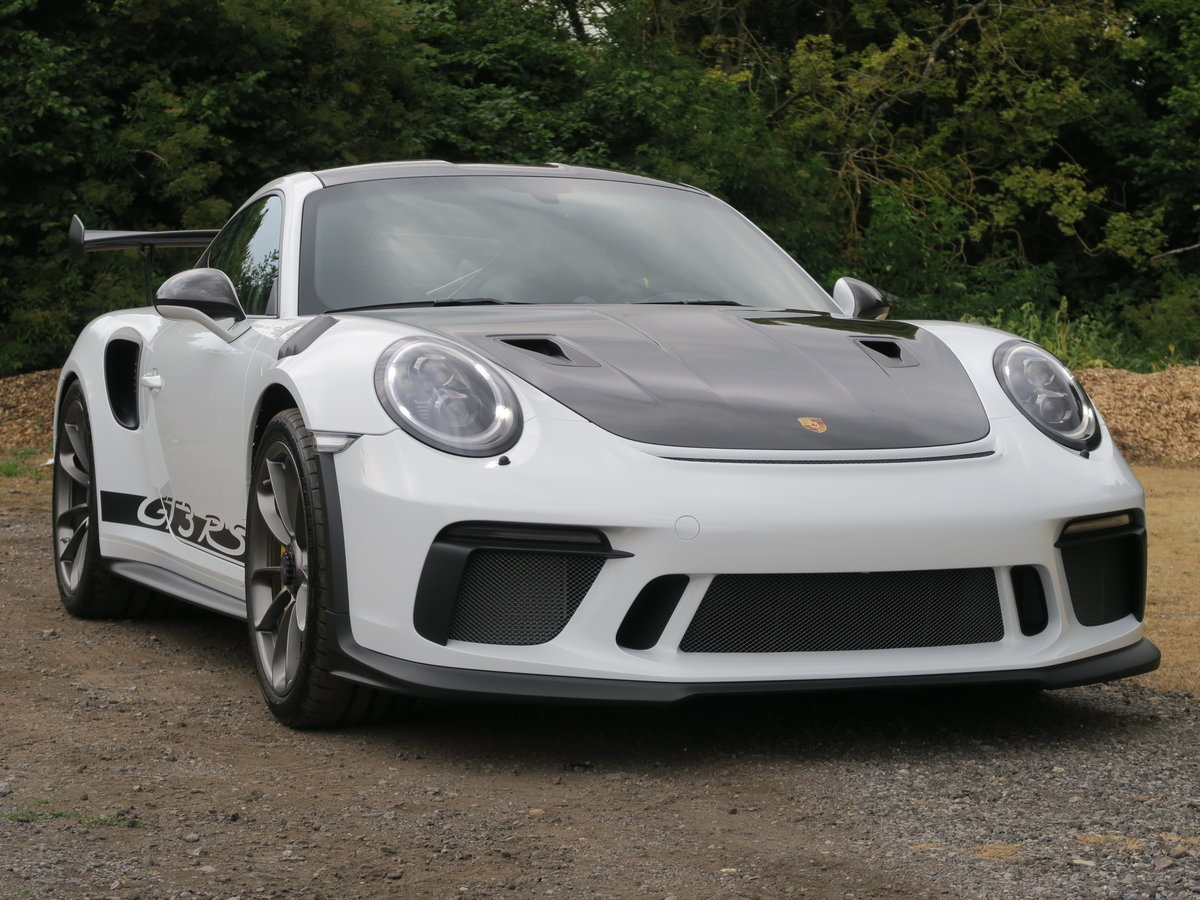 2018 Porsche 991.2 GT3 RS Weissach VAT Qualifying For Sale (picture 1 of 6)