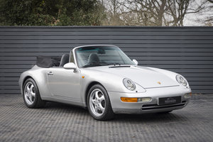 1997 PORSCHE 911 (993) CARRERA 2 ONLY 24,700 MILES SOLD